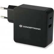 Cargador pared CONCEPTRONIC 60W USB-C (ALTHEA02B)
