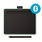 Drawing tablet WACOM Intuos S Bluetooth Green (CTL-4100WLE-S)