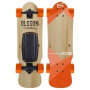 Skate Eléctrico OLSSON Malibu Junior Naranja