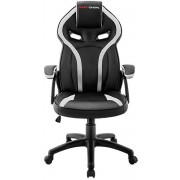 Gaming Chair Mars Gaming MGC118 Black/White (MGC118BW)