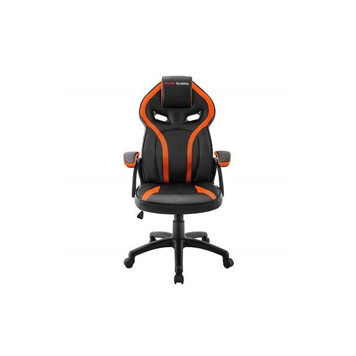 Silla Mars Gaming MGC118 Negro/Naranja (MGC118BO)