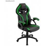 Silla Mars Gaming MGC118 Negro/Verde (MGC118BG)