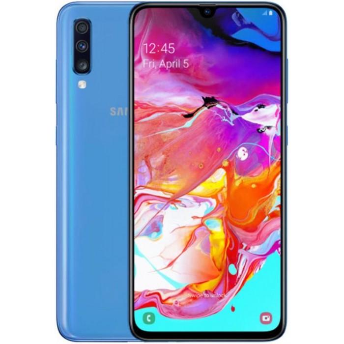 """Smartphone Samsung A70 6.7"""" OC 6Gb 128Gb Blue (A705)"""