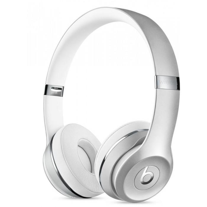 Apple Headphones abierto Beats Solo3 Silver(MNEQ2ZM/A)