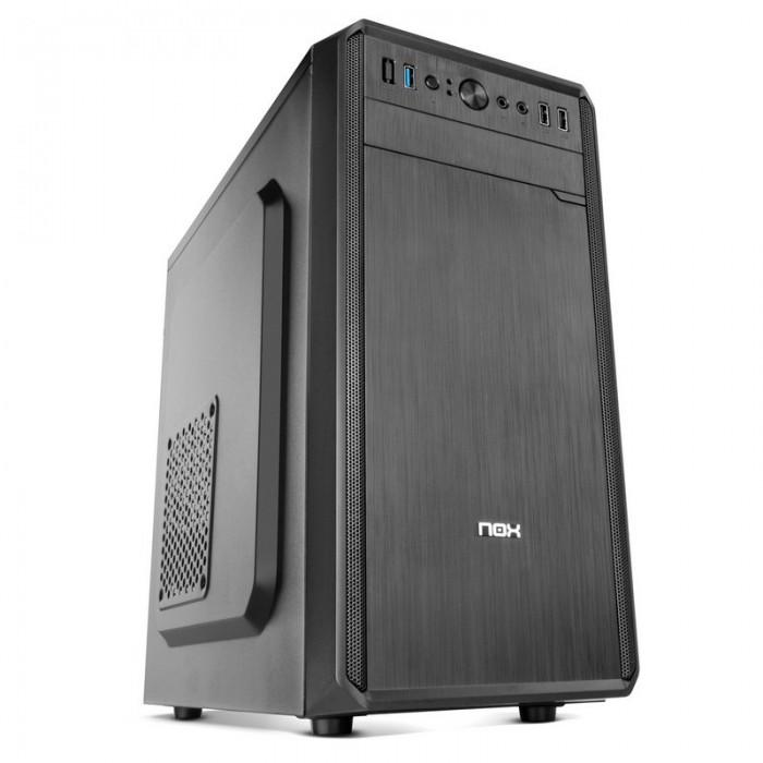 Semitorre mATX NOX Lite030 500w USB3.0 Negro (NXLITE030)