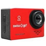SportCam Swiss-Go SG-1.0 FHD Rojo+accesorios(SWI400029