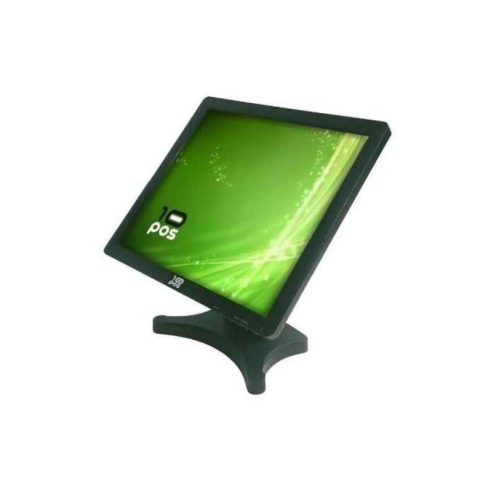 """Monitor 10POS TFT Tactil 19"""" USB Black Vesa (TS-19V)"""