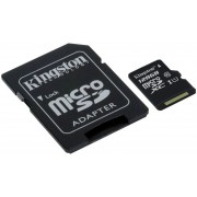KINGSTON Micro SDXC 128Gb + Adaptador Clase10 (SDCS/128GB)