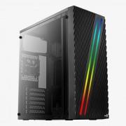 Case AEROCOOL Streak RGB Usb3 Black (STREAK)