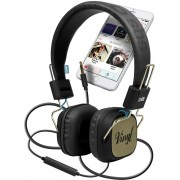 Headsets SBS VINYL Headset Black (TEHEADPHONEDJHQB)