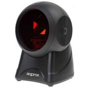 Scanner Approx Sobremesa USB Black (APPLS06OMNI)