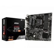 MSI B450M PRO-VDH MAX: (AM4) 4DDR4 VGA DVI HDMI MATX