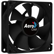 Fan AEROCOOL Force 12 cm Black (FORCE12BK)
