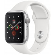 Apple Watch S5 44mm Cell Plata/Sport Blanco (MWWC2TY/A)
