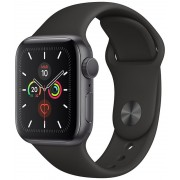 Apple Watch S5 44mm Gell Grey/Sport Black (MWWE2TY/A)
