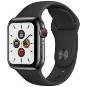 Apple Watch S5 40mm Cell Black/Sport Black (MWX82TY/A)