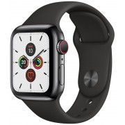 Apple Watch S5 40mm Cell Negro/Sport Negro (MWX82TY/A)