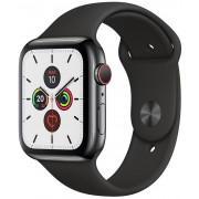 Apple Watch S5 44mm GPS Negro/Sport Negro (MWWK2TY/A)