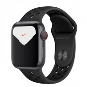 Apple Watch S5 40mm CELL Antrac./Sport Negro (MX3D2TY/A