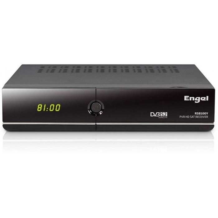 Sintonizador TV Satélite ENGEL DVB-S2 WiFi HDMI (C+) (RS8100Y)