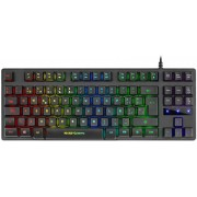 Keyboard Mars Gaming Semi Mechanical Switches RGB (MKTKLES)