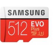 Micro SD SAMSUNG 512Gb+Adap.SD EVO C10 (MB-MC512GA/EU)
