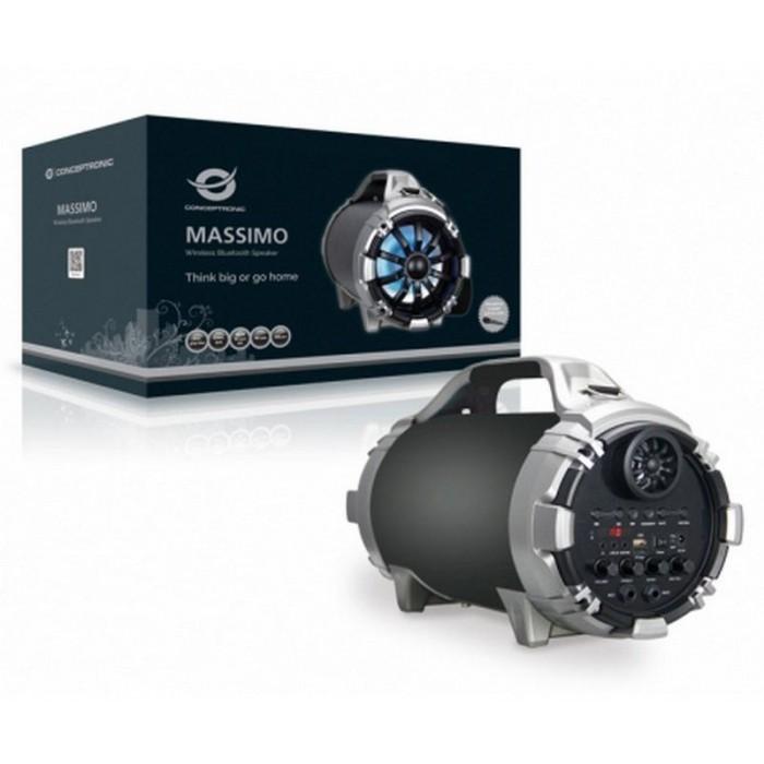 Altavoz CONCEPTRONIC MASSIMO Bt MP3 USB/mSD FM (MASSIMO01B)