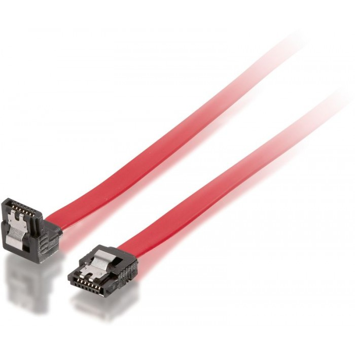 EQUIP Cable Serial ATA 0.3m Clip Angled (EQ111809)