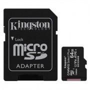 KINGSTON MicroSD HC Canvas 64Gb + Adaptor (SDCS2/64GB)