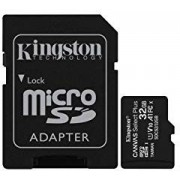 KINGSTON Micro SD HC Canvas 32Gb + Adaptor (SDCS2/32GB)
