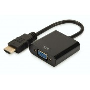 Adapter Nanocable HDMI to VGA + cable Audio (10.16.2001-BK)