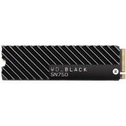 SSD WD Black 500Gb M.2 PCIe SN750 (WDS500G3XHC)