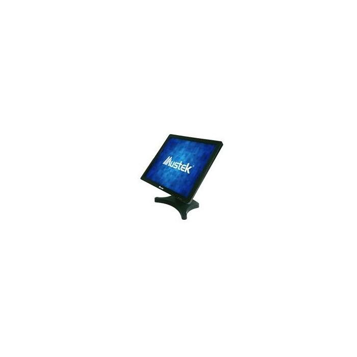 """Monitor MUSTEK TFT Tactil 19"""" USB Black Vesa (TS-19VUN)"""