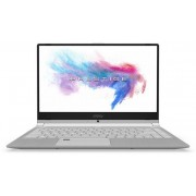 "MSI PS42 Modern 8RA-280XES i7-8565 16Gb 512SSD 14"" MX250 2Gb Without OS Silver"