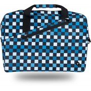 "Laptop bag NGS hasta 15.6"" estampado cuadros (GINGERCHESS)"
