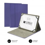 """Cover SUBBLIM Clever Stand 10.1"""" Purple (CUT-1CT004)"""