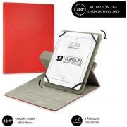 "Cover SUBBLIM Rotate 360º 10.1"" Red (CUT-3RE002)"
