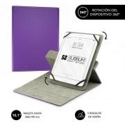 "Cover SUBBLIM Rotate 360º 10.1"" Purple (CUT-3RE003)"