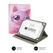 """Cover SUBBLIM Trendy Cat 10.1"""" 360º (CUT-4TC002)"""