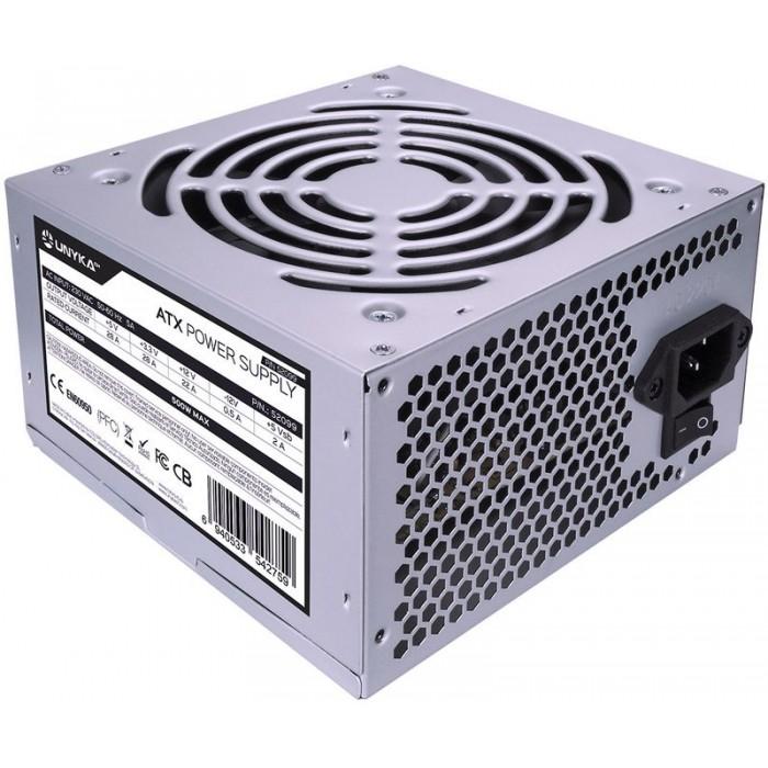 Power supply UNYKA ATX-500W (52099)