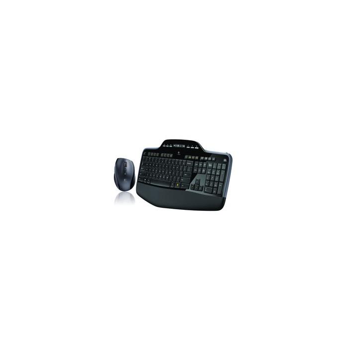 Keyboard + Mouse Logitech Wireless D.Optical MK710 (920-002437)