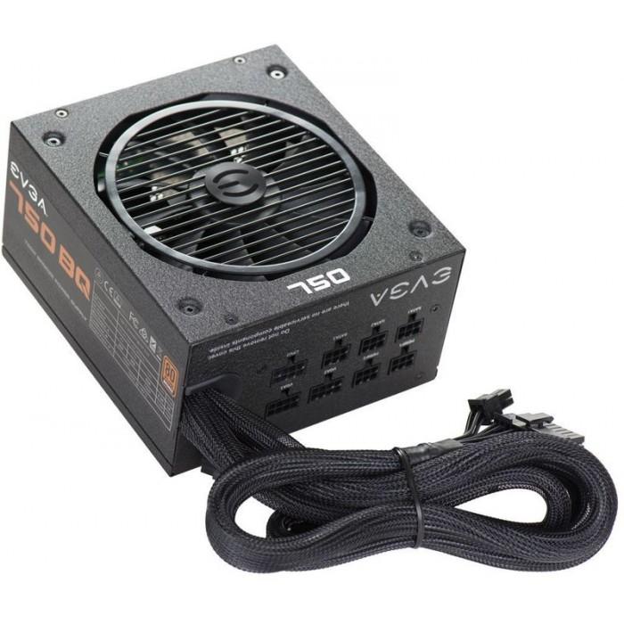 Power supply EVGA 750 BQ 80+ Bronze 750W (110-BQ-0750-V2)