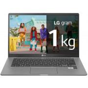 """LG Gram i5-1035G7 8GB 256GbSSD 14"""" W10 Silver (14Z90N-V.AR52B)"""