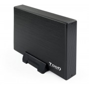 "HDD Case TOOQ 3.5"" SATA USB3 Black (TQE-3527B)"