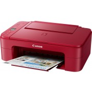 Multifunction CANON TS3352 Color Wifi Usb Red (3771C046)