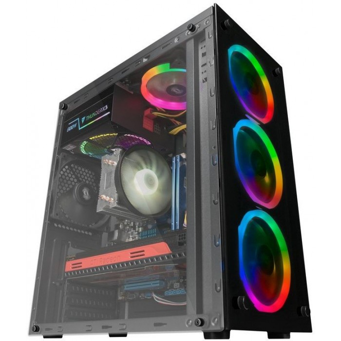 Case Mars Gaming USB3.0/USB2.0 S/F (MCGRGB)