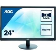 """Monitor AOC 24"""" LED FHD VGA HADMI (M2470SWH)"""