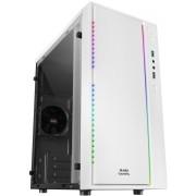 Case Mars Gaming mATX RGB USB2/3 s/Fuente (MCMW)