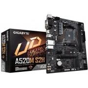 GIGABYTE A520M S2H: (AM4) 2DDR4 DVI HDMI mATX