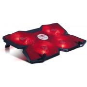 """Laptop Cooler SPIRIT OF GAMER 17.3"""" (AIRBLADE 500 RED)"""